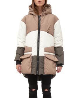Изображение Зимняя короткая светлая куртка Lut