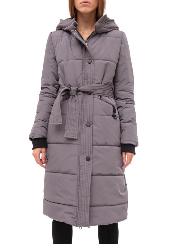 Изображение Зимняя серая удлиненная куртка Lut