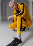 Изображение Штаны желтые с лампасами Black Limit