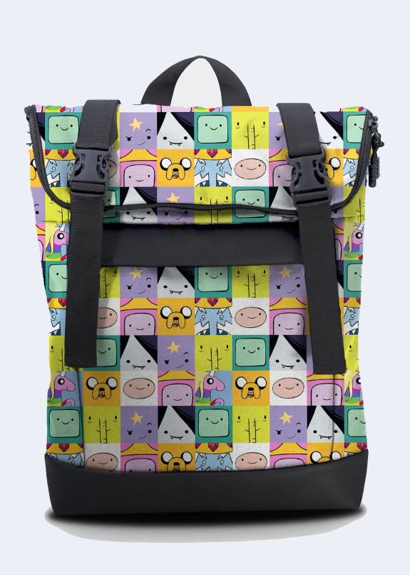 Изображение РЮКЗАК ROLLTOP MEDIUM ADVENTURE TIME TWINS STORE