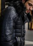 Изображение Куртка стеганая с меховым капюшоном Mfstore