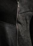 Изображение Кардиган на молнии с черно-серыми вставками Mfstore