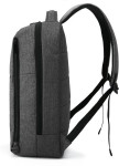 Изображение Рюкзак гладкий для ноутбука черный Bagsmart