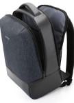 Изображение Рюкзак для ноутбука с вставкой черный bagsmart