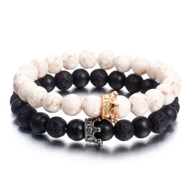 Изображение Набор браслетов с коронами Fashion