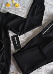 Изображение Рубашка шелковая черная Maro