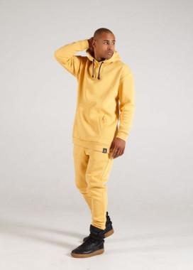 Изображение Штаны мужские на флисе желтые