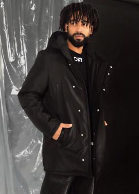 Изображение Асимметричная мужская куртка