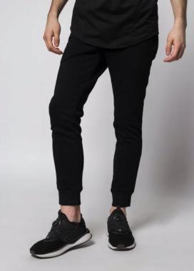 Изображение Спортивные штаны мужские черные Рейн