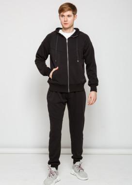 Изображение Мужской базовый костюм в черном цвете