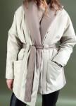 Изображение Укорочённое пальто ассиметричного кроя
