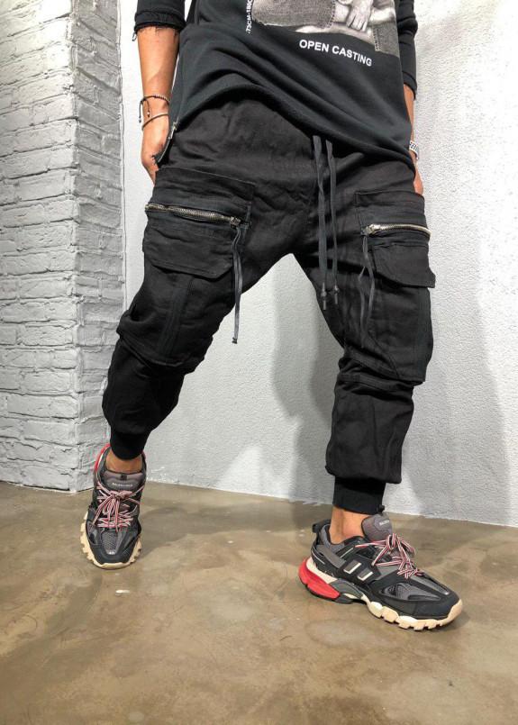 Изображение Джоггеры с большими накладными карманами