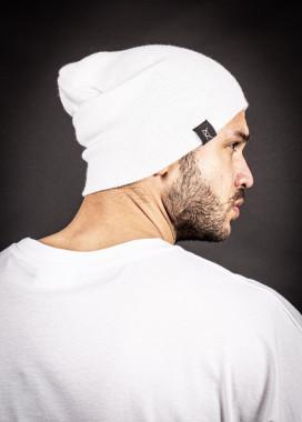 Изображение Шапка мелкой вязки белая MFS
