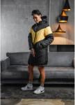 Изображение Пуховик женский Smashing черно-желтый