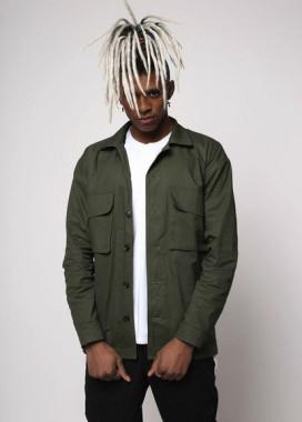 Изображение Куртка-рубашка хаки мужская Фьюри