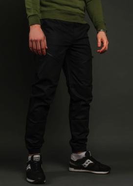 Изображение Карго штаны мужские черные  Апачи