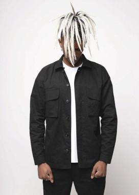 Изображение Куртка-рубашка черная мужская Фьюри