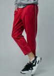 Изображение Cпортивные штаны мужские красные с полосками Tur streetwear