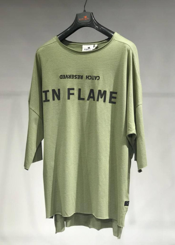 Изображение Футболка хакки  IN FLAME MFStore