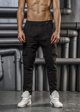 Изображение Брюки с карманами выше колена Mfstore