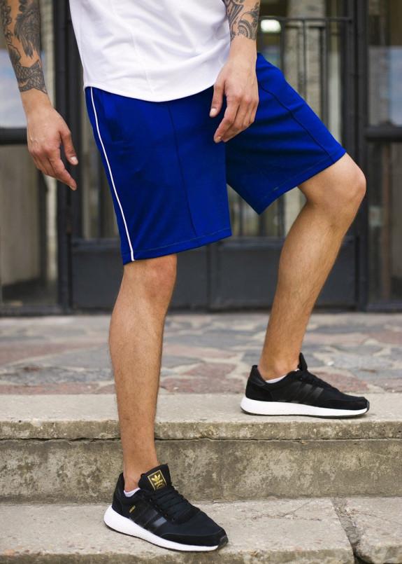 Изображение Шорты синие мужские с полоской СиДжей Tur Streetwear