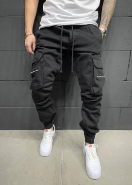 Изображение Джинсы с карманами и молниями на них (декор) MFStore