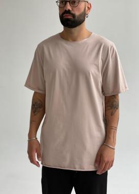 Изображение Базовая бежевая футболка ROLF