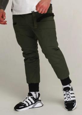 Изображение Зимние карго штаны мужские хаки модель Танос