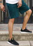 Изображение Шорты зеленые мужские с полоской СиДжей Tur Streetwear
