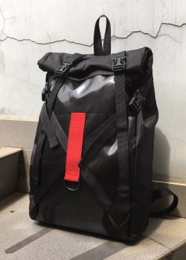 Изображение Рюкзак роллтоп чёрного цвета Джекс