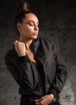 Изображение Бомбер женский Street черный