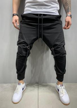Изображение Брюки с затяжками выше колена MFStore