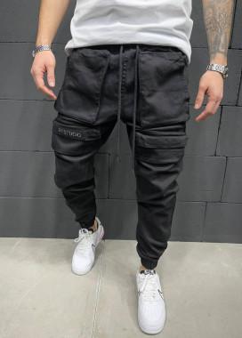 Изображение Джинсы с большими карманами и логотипом 2y под ними MFStore