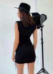 Изображение Платье черное с плечиками