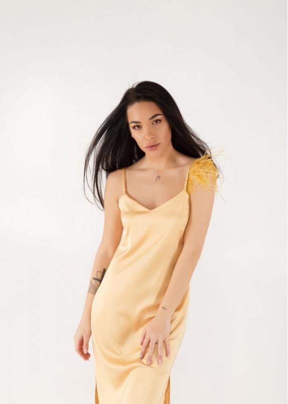 Изображение Платье PHOENIX Champagne Gold золотое She Black Limit