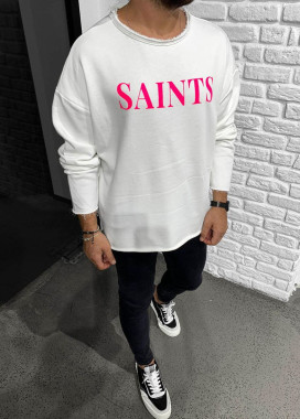 Изображение Белый реглан Saints MFStore