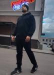 Изображение Чёрная толстовка с капюшоном