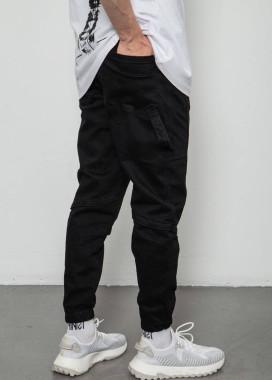 Изображение Джоггеры мужские базовые черные Mfstore
