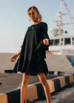 Изображение Платье черное Stars can't Street style