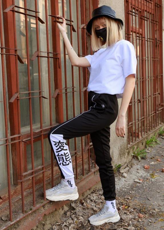 Изображение Спортивные штаны женские черные Крид