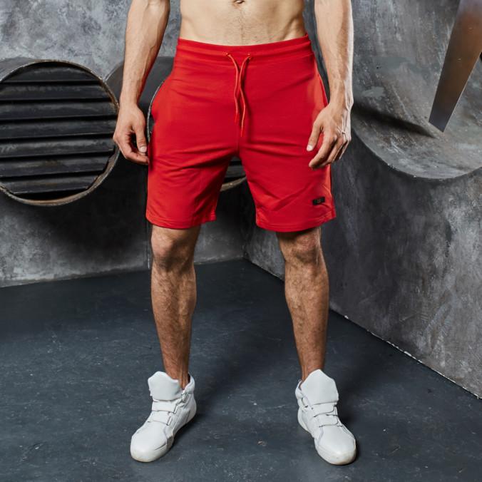 Изображение Шорты со шнурками базовые красные MFStore