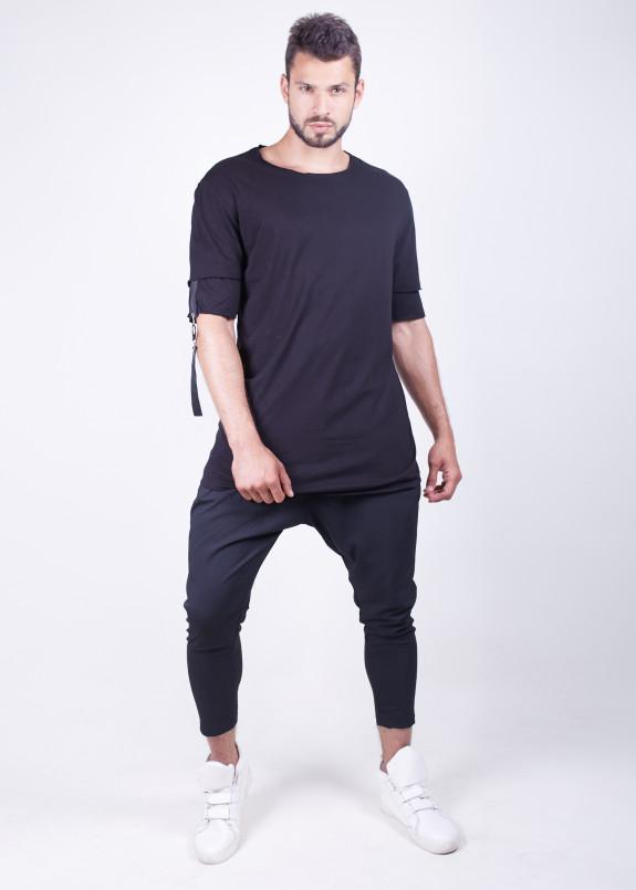 Изображение Мужская базовая футболка с стропами MFStore