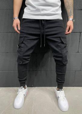 Изображение Джинсы с карманами на молниях по бокам MFStore