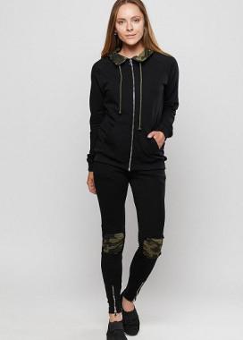 Изображение Женские штаны с милитари вставками