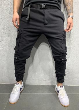 Изображение Спортивные штаны с текстильными ремешками