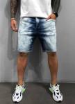 Изображение Джинсовые градиентные шорты MFStore
