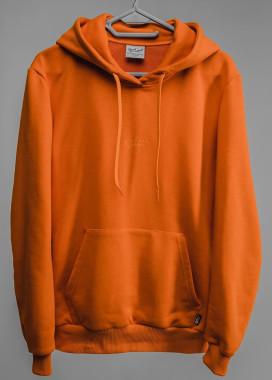 Изображение Оранжевое худи с классическим лого