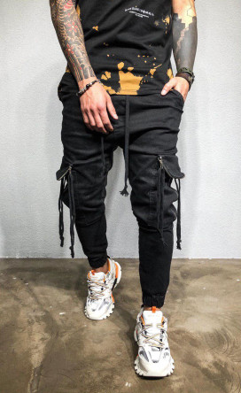 Изображение Джоггеры с большими карманами Mfstore