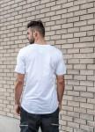 Изображение Футболка белая со стежкой на кармане Mfstore