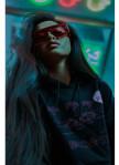 Изображение Худи Vice City Oversized Black Hood